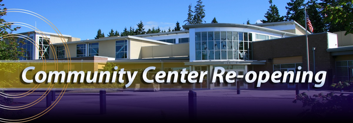 Community Center will Re-open January 18, 2021 at 6:00 AM.