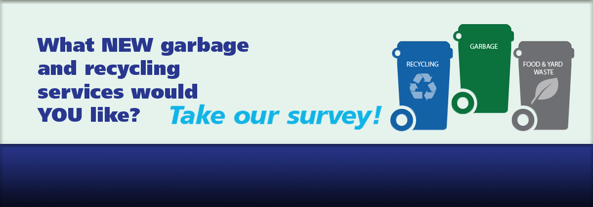 Solid Waste and Recycling survey