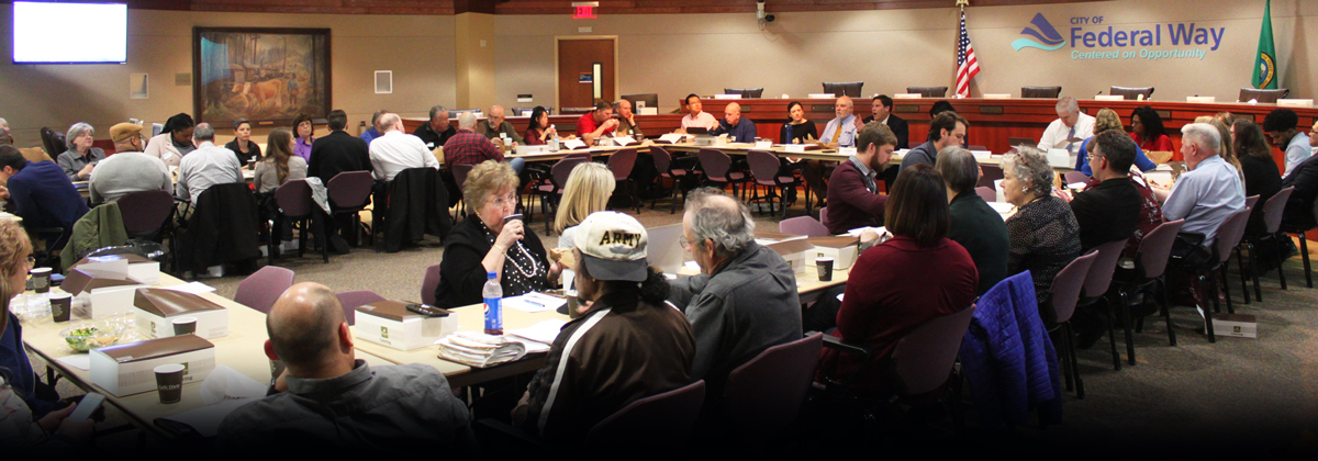 City brings together faith-based groups, nonprofits